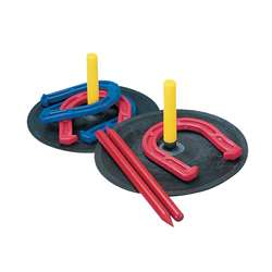 Indoor Outdoor Horseshoe Set By Champion Sports