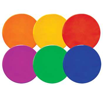 Spot Marker Set Of 6 Poly Asst, CHSMSPSET