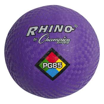 Playground Ball 8 1/2In Purple By Champion Sports