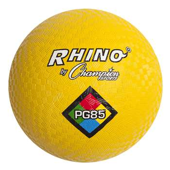 Playground Ball 8 1/2In Yellow By Champion Sports
