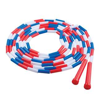 Plastic Segmented Ropes 16Ft Red White & Blue By Champion Sports