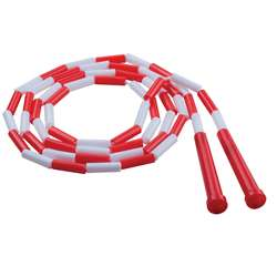 Plastic Segmented Ropes 7Ft Red & White By Champion Sports