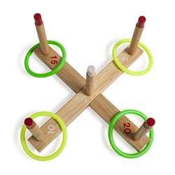 Quality Ring Toss Set By Champion Sports