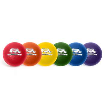 Rhino Skin 6In Dodgeball 6Set Asst By Champion Sports