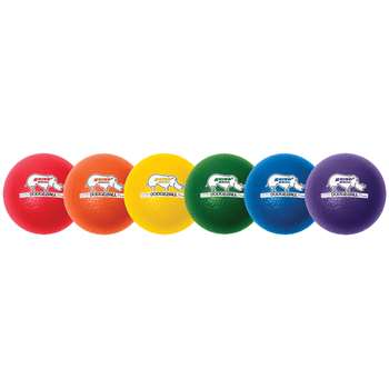 "Rhino Skin Dodge Ball 8"" Set Of 6, CHSRXD8SET"