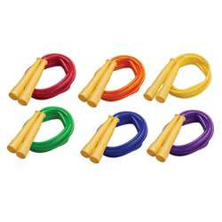 Speed Rope 8Ft Yellow Handles Assorted Licorice Rope By Champion Sports