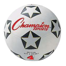 Champion Soccer Ball No 4 By Champion Sports