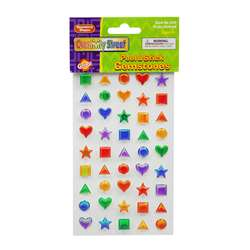 Scrapbookin Kids Gemstones Shapes Peel & Stick By Chenille Kraft