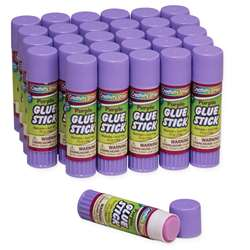 Glue Sticks 30 Purple .70 Oz By Chenille Kraft