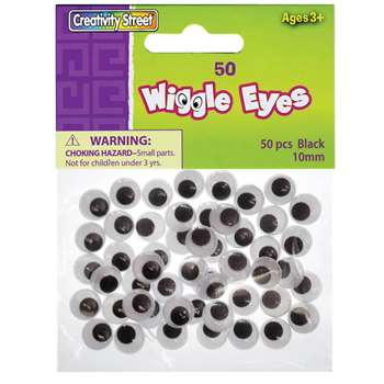 Wiggle Eyes 10Mm By Chenille Kraft