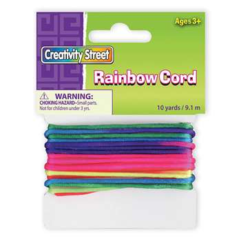 Rainbow Cord By Chenille Kraft