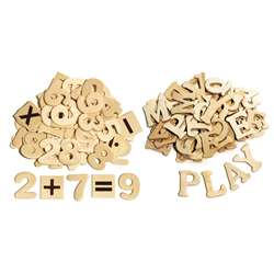 Wood Letters & Numbers By Chenille Kraft
