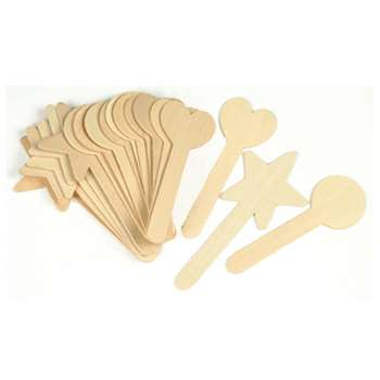 Large Geometric Shapes Craft 36 Pieces Sticks By Chenille Kraft