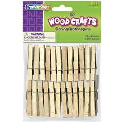 Shop Spring Clothespins - Ck-365801 By Chenille Kraft