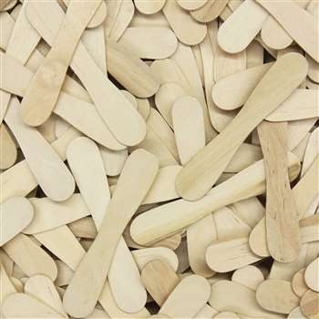 Craft Spoons 900 Pieces Natural By Chenille Kraft