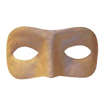 Paper Mache Mask Half By Chenille Kraft