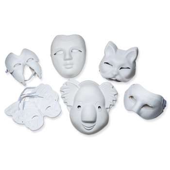 Paperboard Mask Assortment By Chenille Kraft