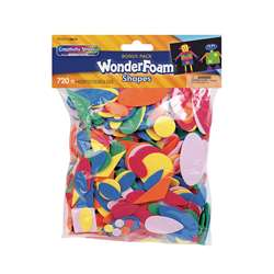 Wonderfoam 720 Pieces In Assrt. Colors By Chenille Kraft