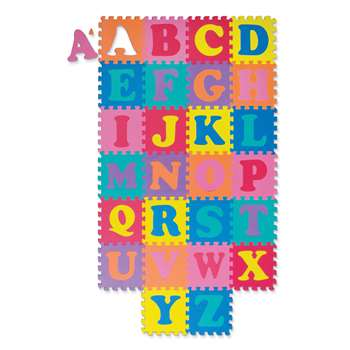 Wonderfoam Alphabet Puzzle 52 Pieces Mat 10 X 10 By Chenille Kraft