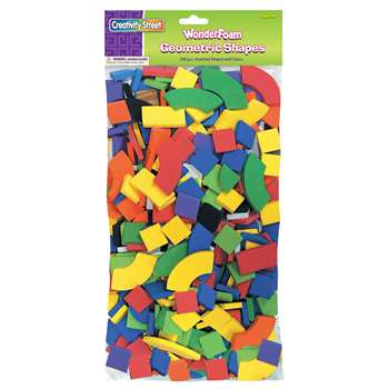 Wonderfoam Geometric Shapes Classroom Pk By Chenille Kraft