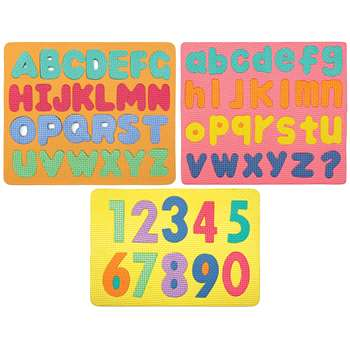 Wonderfoam Magnetic Letters & Numerals Puzzle Set By Chenille Kraft