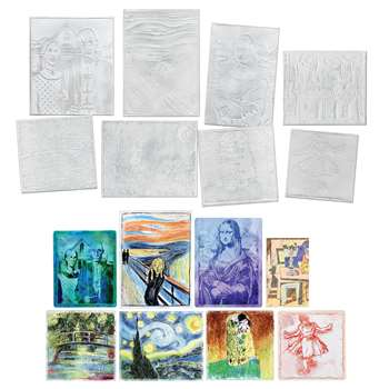 Fine Art Collection Embossed Paper Set By Chenille Kraft