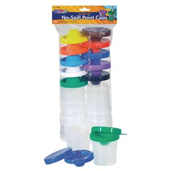 No Spill Paint Cups 10/Pk Dual Lid Storage Cups By Chenille Kraft