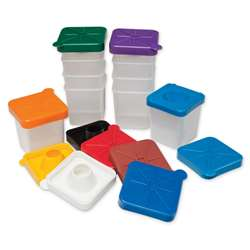 No-Spill Paint Cups Square By Chenille Kraft