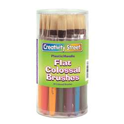 Colossal Flat Wood Handle Brush Assortment By Chenille Kraft