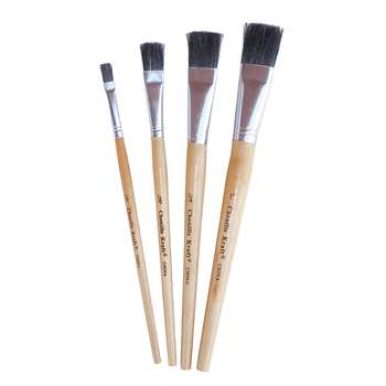 Stubby Easel Brush Set By Chenille Kraft