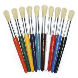 Colossal Brushes Set Of 10 Assorted Colors By Chenille Kraft