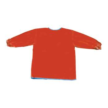Long Sleeve Artist Smock Red By Chenille Kraft
