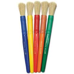 Colossal Brushes Set Of 5 Assorted Colors By Chenille Kraft
