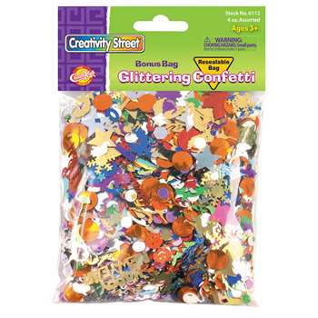 Confetti Value Pack 4 Oz By Chenille Kraft