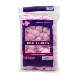 Craft Fluffs Pink By Chenille Kraft