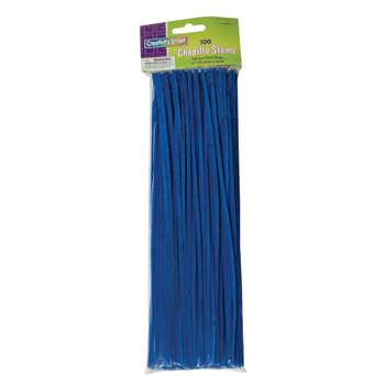 Chenille Stems Blue 12 Inch By Chenille Kraft