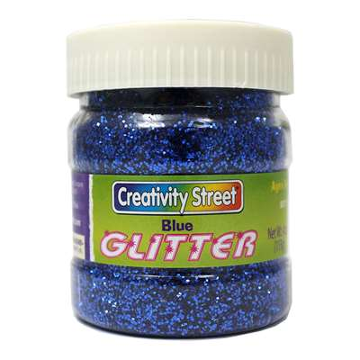 Glitter 4 Oz. Blue By Chenille Kraft