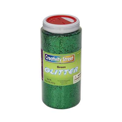 Glitter 1 Lb. Green By Chenille Kraft