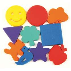 Familiar Shapes Sponge Set 10 Pcs By Chenille Kraft