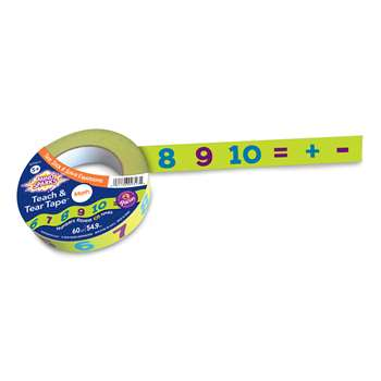 Teach & Tear Math Tape, CK-9317