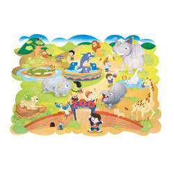 Giant Zoo Animals Floor Puzzle By Chenille Kraft