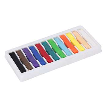 Quality Artists Square Pastels 12 Assorted By Chenille Kraft