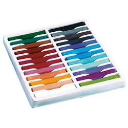 Quality Artists Square Pastels 24 Assorted Colors By Chenille Kraft
