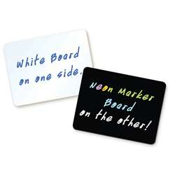 Black / White 10Pk Dry Erase 9X12 Combo Board By Chenille Kraft