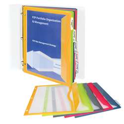 C Line Binder Pockets With Write On Tabs, CLI06650