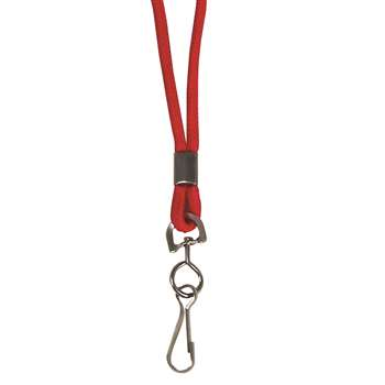 C Line Std Lanyard With Swivel Hook Red By C-Line