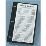 Math 2 Flip Up Study Guide By Christopher Lee