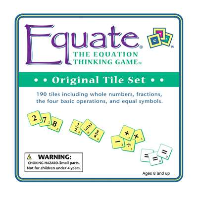 Equate Original Tiles By Conceptual Math Media