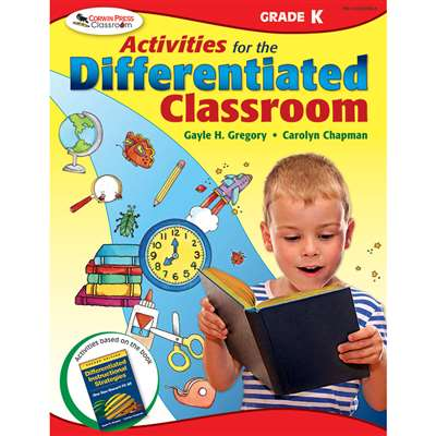 Activities For The Differentiated Classroom Kindergarten By Corwin