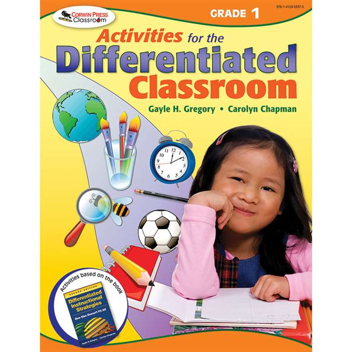 Activities For The Differentiated Classroom Gr 1 By Corwin
